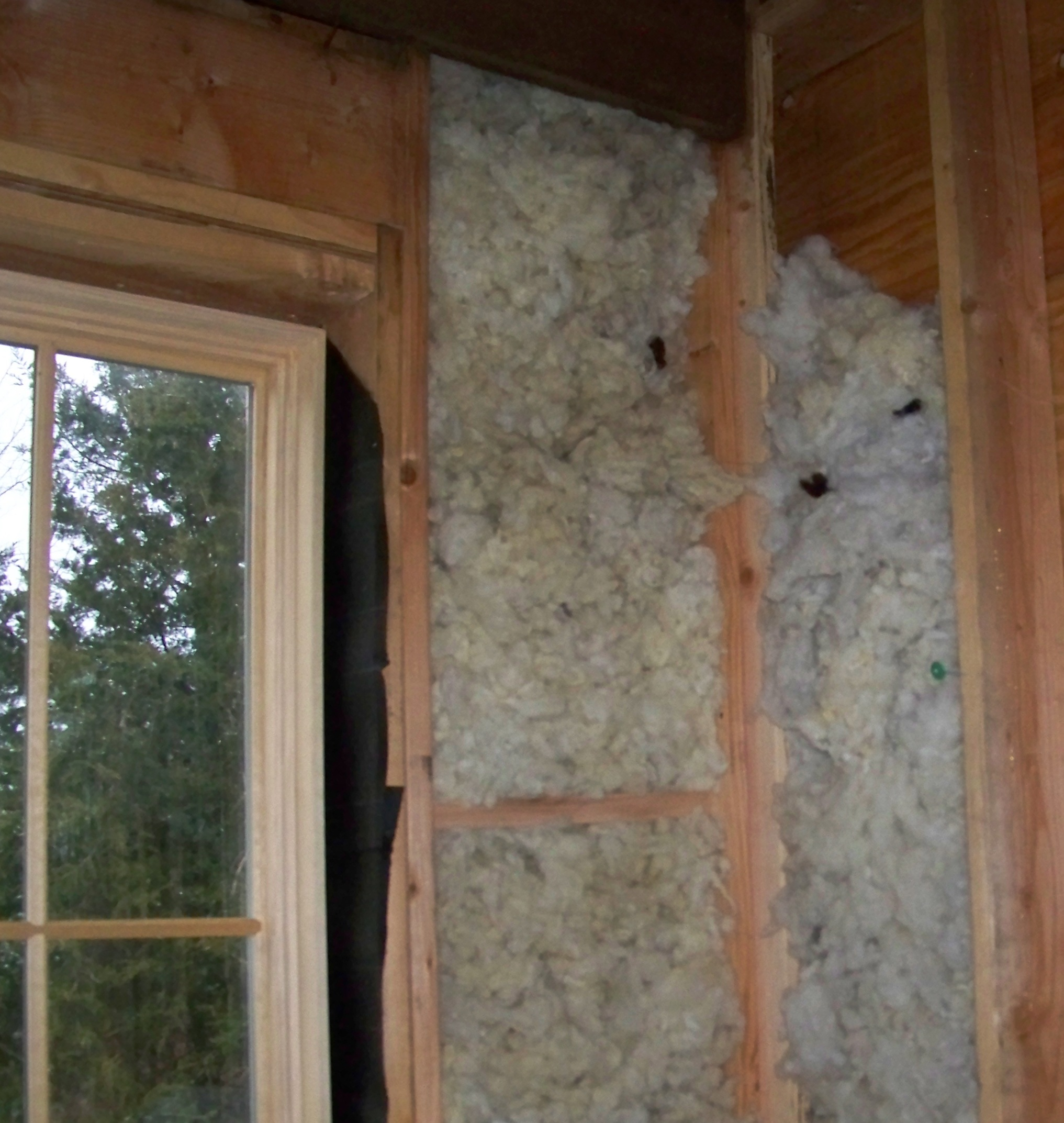 Wool insulation for Insulation batt sizes